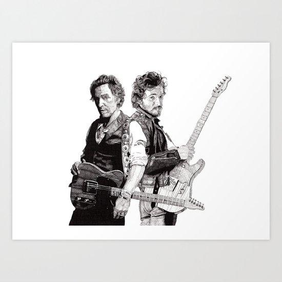Bruce & Bruce Art Print