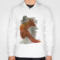 robert farkas Hoodies featuring Ode to Robert Farkas by Brown Paper Bunny