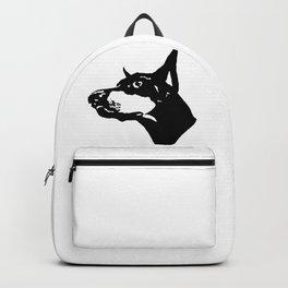 Doberman  Dog Backpack