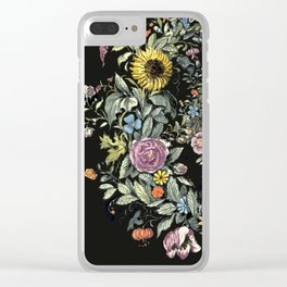 Circle of Life Dark Clear iPhone Case