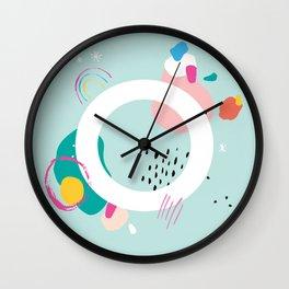 O Monogram Wall Clock