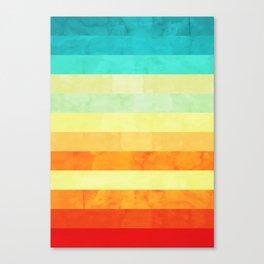 Landscape collage XXI Canvas Print