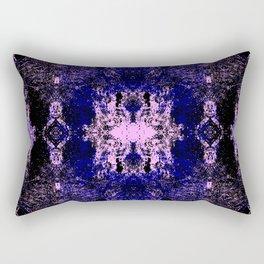 Yorimasa - Abstract Multicolor Rorschach Butterfly Rectangular Pillow