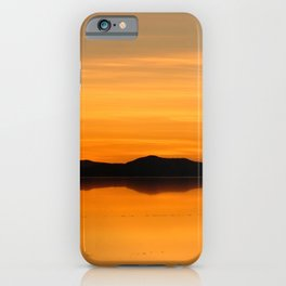 Sunset Salar de Uyuni 5 - Bolivia - Landscape and Rural Art Photography iPhone Case