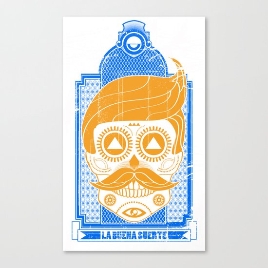 LA BUENA SUERTE II Canvas Print