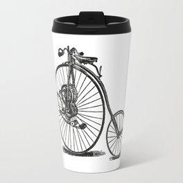 Old bicycle Travel Mug
