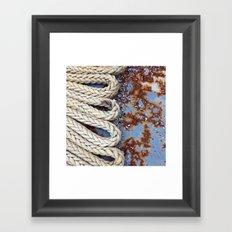 Rope Master Framed Art Print