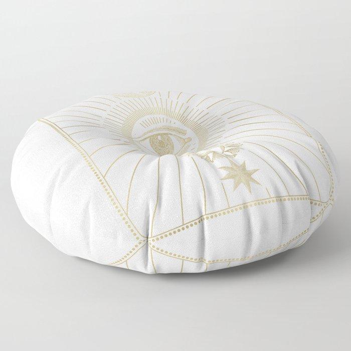 The Eye Floor Pillow