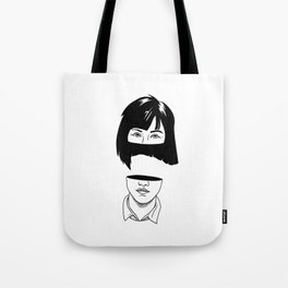 Girl. Tote Bag