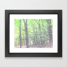 Branch Out Framed Art Print