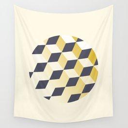 Geometric Circle Study Series No. 1 Wall Tapestry