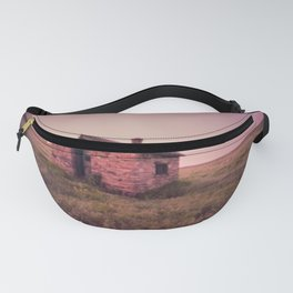 Abandoned Stone House on The Prairie Fanny Pack