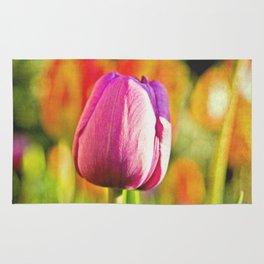 Tulip Collage Rug