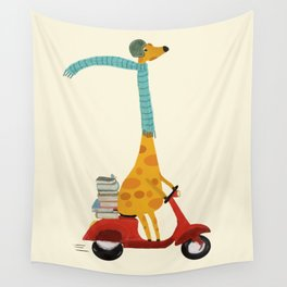 college days Wall Tapestry