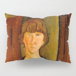 "Amedeo Modigliani ""Flower Vendor.jpg Pillow Sham"