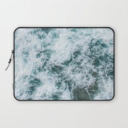 Waves in Abstract Laptop Sleeve