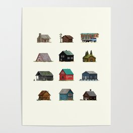 Cabins Poster