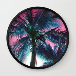 Of the Trees - RG_Glitch Series Wall Clock