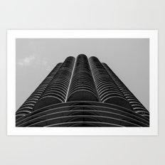 Marina Towers - Chicago Art Print