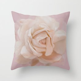 DUSKY ROSE Throw Pillow