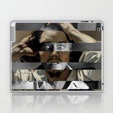"Gustave Courbet ""The Desperate Man"" Self Portrait & James Stewart in Vertigo Laptop & iPad Skin"
