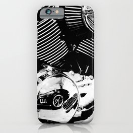 Motor Reflections iPhone Case