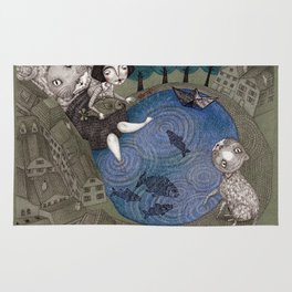 The Fish Pond Rug