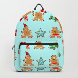 Naughty or Nice Gingerbread Backpack