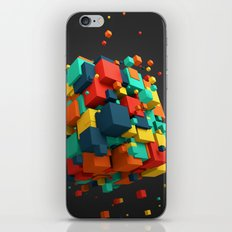Magnetic Cube iPhone & iPod Skin