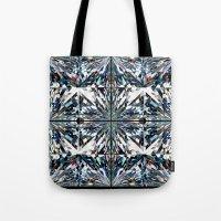 flawless Tote Bags featuring Flawless by Irina Chuckowree