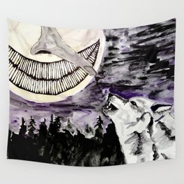 On The Full Moon Wall Tapestry