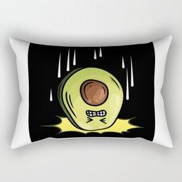Avocado Lovers Gift Idea Design Motif Rectangular Pillow