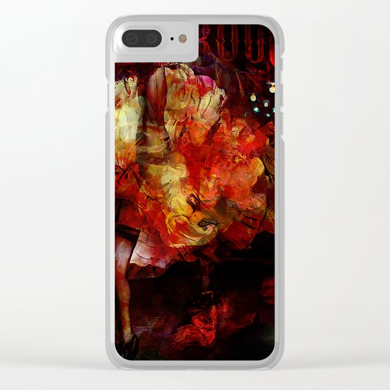 French cancan Clear iPhone Case