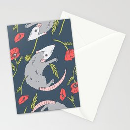 Possums and Poppies Stationery Cards