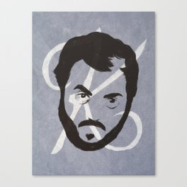 K is for Kubrick Canvas Print
