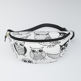 Funny owls Fanny Pack