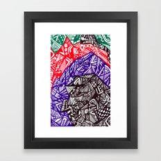 Shell out Framed Art Print