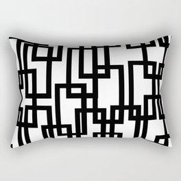Rec-tangled II Rectangular Pillow