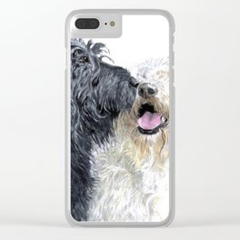 Labradoodle Love Clear iPhone Case