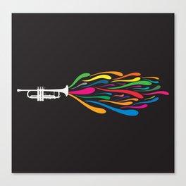 A Trumpet Canvas Print