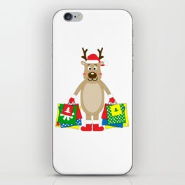 Happy Deer iPhone Skin
