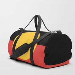 Australian Aboriginal Flag Duffle Bag