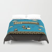 supernatural Duvet Covers featuring Supernatural Bros. by Byway