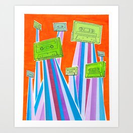 and then one day they left.. Art Print
