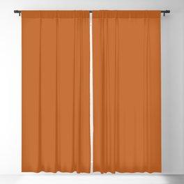 AUTUMN MAPLE solid color  Blackout Curtain