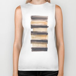 [161216] 13. Drenched|Watercolor Brush Stroke Biker Tank