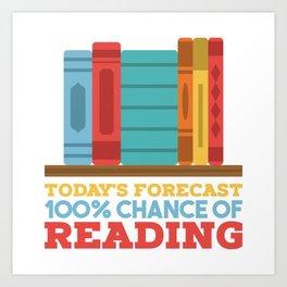 Books Reading Art Print