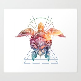 Spirit of the SeaTurtle Art Print