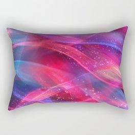 Abstract Shiny Night Lights 18 Rectangular Pillow