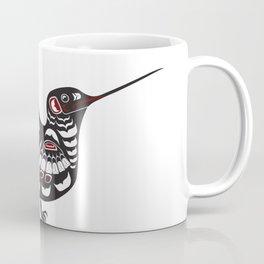Coastal Hummingbird, north west Salish native american formline design bird colibrí Coffee Mug